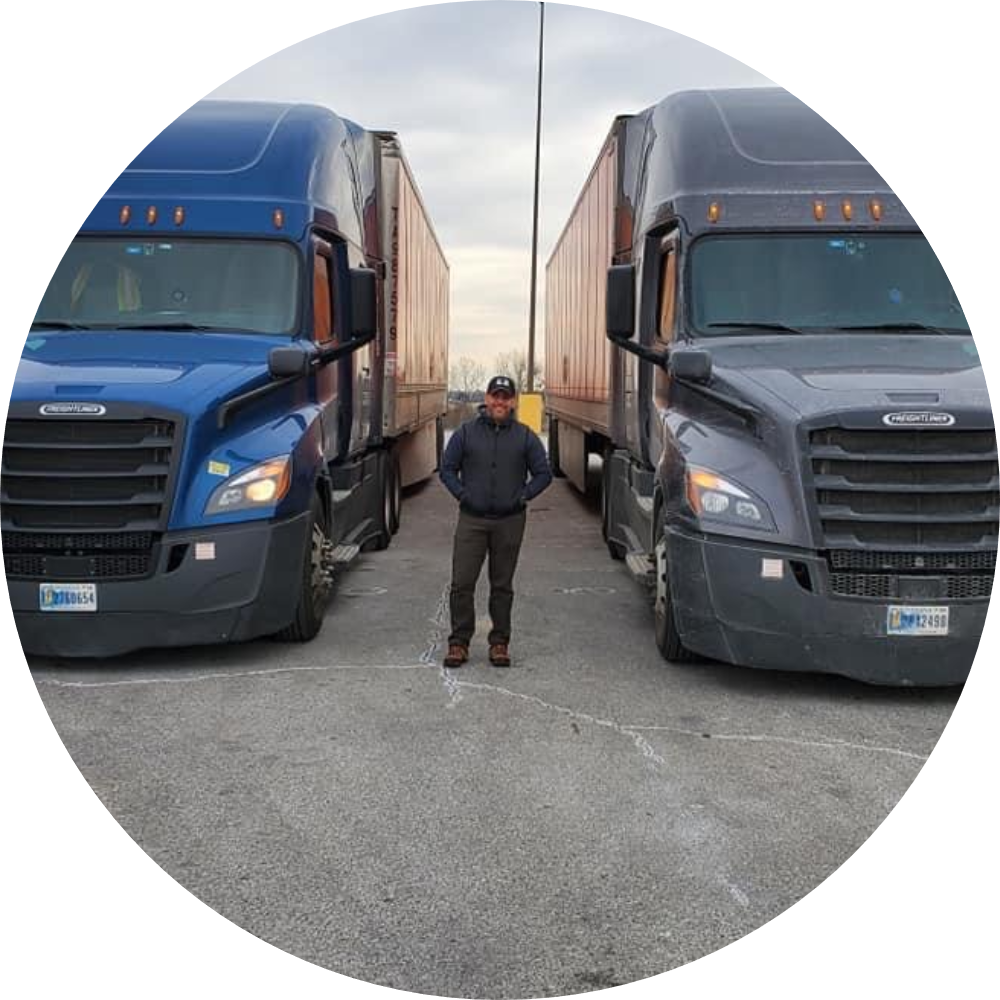 Juan Medina Jones <br> Owner <br> Juan Jess Trucking LLC